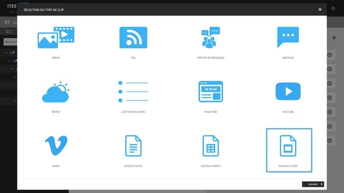 3 - select Google Slides
