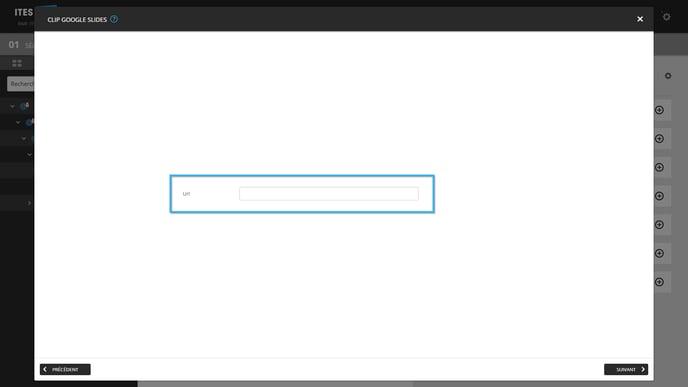 4 - Enter URL Slides