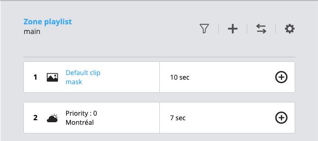 Default clip